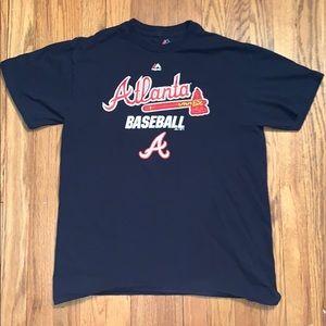 Atlanta Braves Baseball - Majestic T-Shirt
